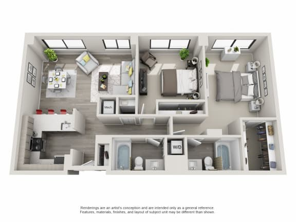 Floor Plan  B01